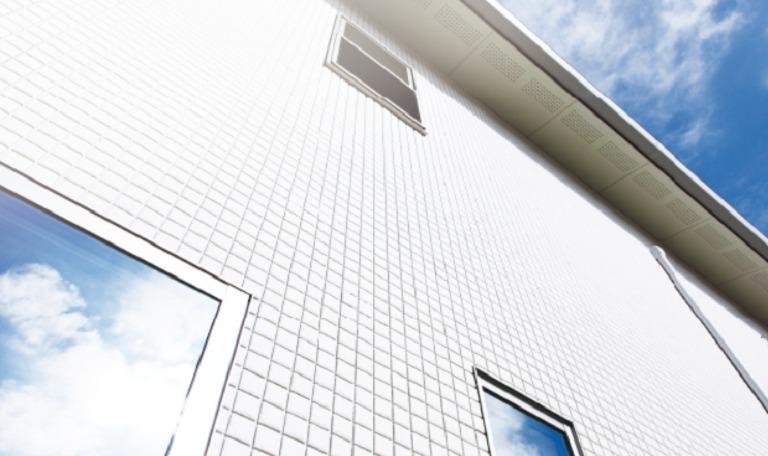クレバリーホーム_タイル外壁